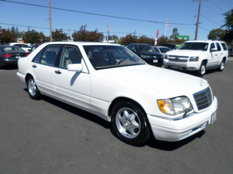 1998 MERCEDES-BENZ S-CLASS S420 4DR SEDAN white one owner vehicle abs - 4-wheel antenna type