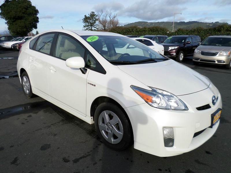 2011 TOYOTA PRIUS II 4DR HATCHBACK 318 full leather seating package abs - 4-wheel active head re