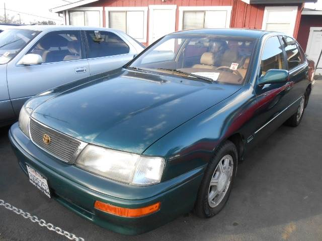 1996 TOYOTA AVALON XLS green abs brakesair conditioningalloy wheelsanti-brake system 4-wheel a