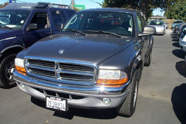 2003 DODGE DAKOTA SLT QUAD CAB 2WD blue abs brakesair conditioningalloy wheelsamfm radioanti-