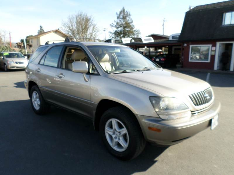1999 LEXUS RX 300 BASE AWD 4DR SUV gold abs - 4-wheel antenna type - power anti-theft system -