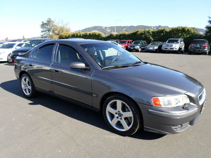 2004 VOLVO S60 R BASE AWD 4DR TURBO SEDAN gray one owner vehicle abs - 4-wheel anti-theft s