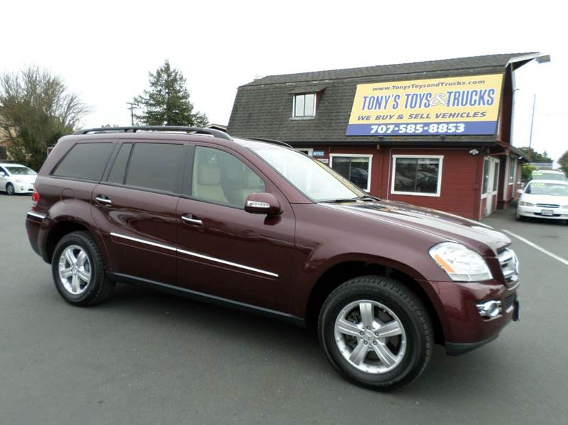2007 MERCEDES-BENZ GL-CLASS GL450 AWD 4MATIC 4DR SUV burgandy one owner vehicle new tires be