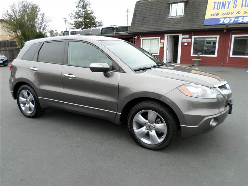 2007 ACURA RDX SH-AWD WTECH 4DR SUV WTECHNOLO charcoal one owner vehicle well taken care of
