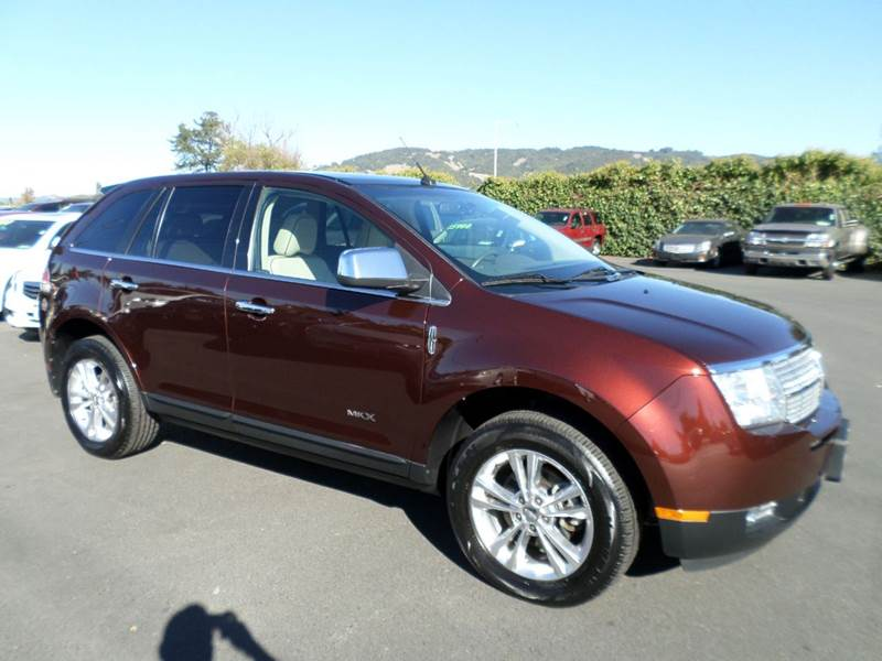 2010 LINCOLN MKX BASE AWD 4DR SUV cinnamon metallic really nice suv for the family 4wd type