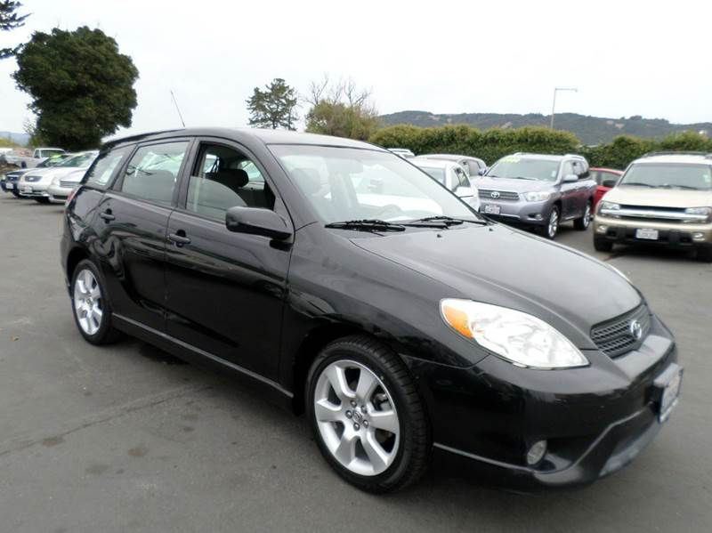 2008 TOYOTA MATRIX XR 4DR WAGON 4A black new tires air filtration anti-theft system - engine imm