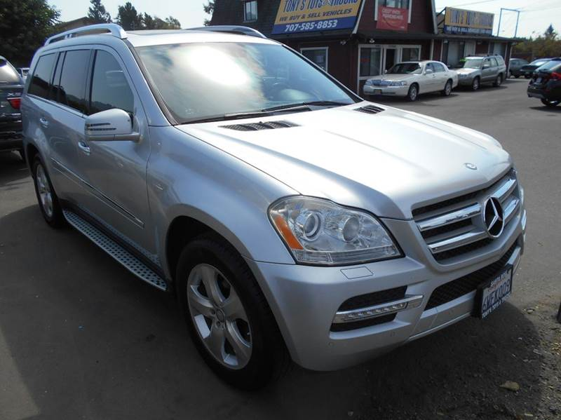2012 MERCEDES-BENZ GL-CLASS GL 450 4MATIC AWD 4DR SUV silver 7 passanger new tires 2-st