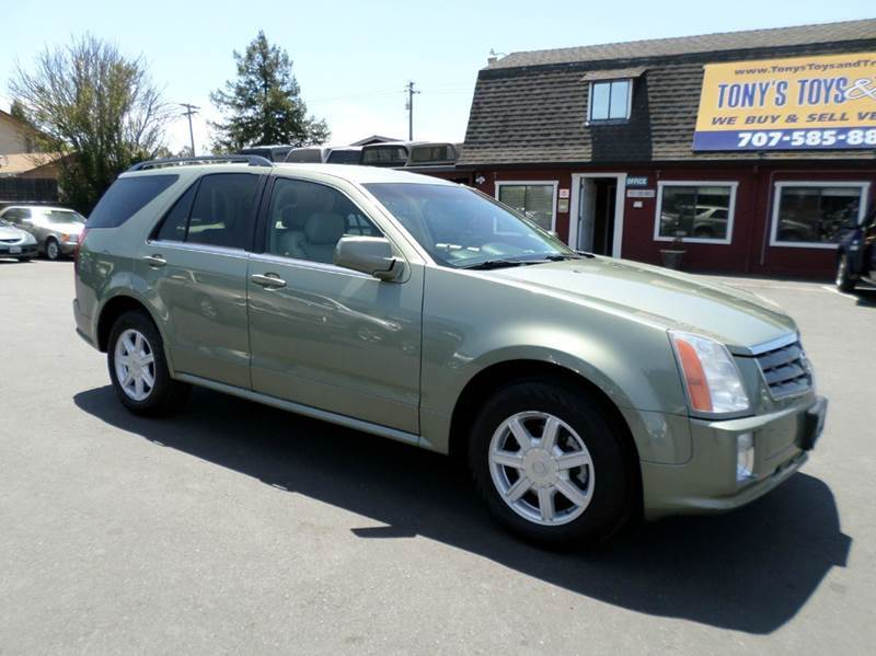 2004 CADILLAC SRX BASE AWD 4DR SUV V6 lt green clean suv 3rd row seating for the family