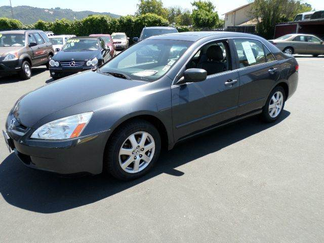 2005 HONDA ACCORD EX V-6 4DR SEDAN gray one owner vehicle new tires clean car abs - 4-wheel