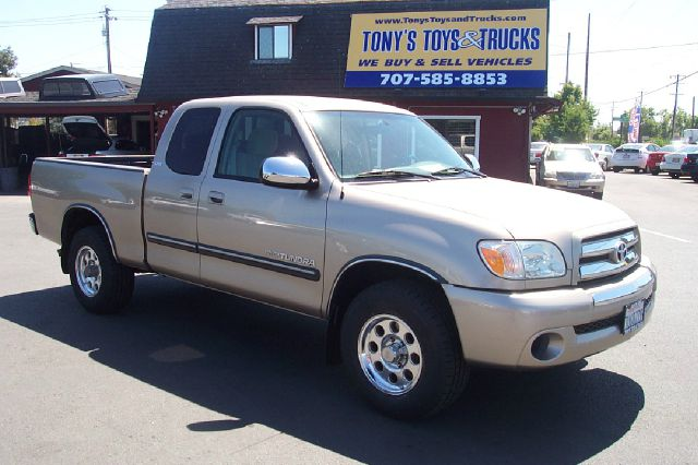2006 TOYOTA TUNDRA SR5 4DR ACCESS CAB SB 4L V6 5A gold new tires low miles abs - 4-wheel anten