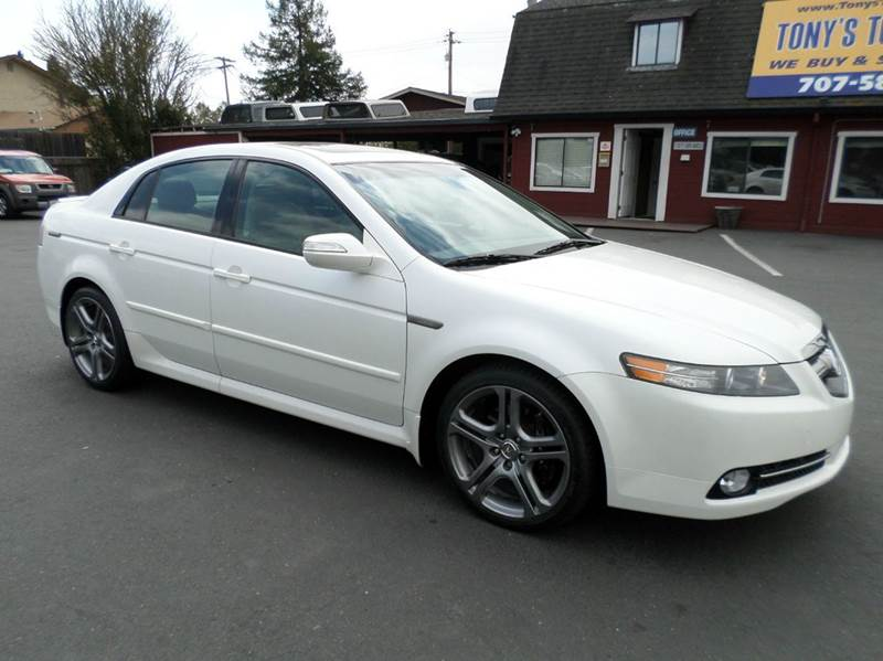 2007 ACURA TL TYPE-S 4DR SEDAN 35L V6 5A pearl white type-s 2-stage unlocking - remote abs -
