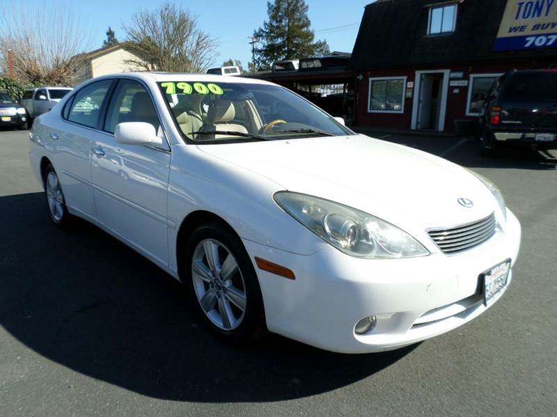 2006 LEXUS ES 330 BASE 4DR SEDAN abs - 4-wheel air filtration airbag deactivation - occupant sen