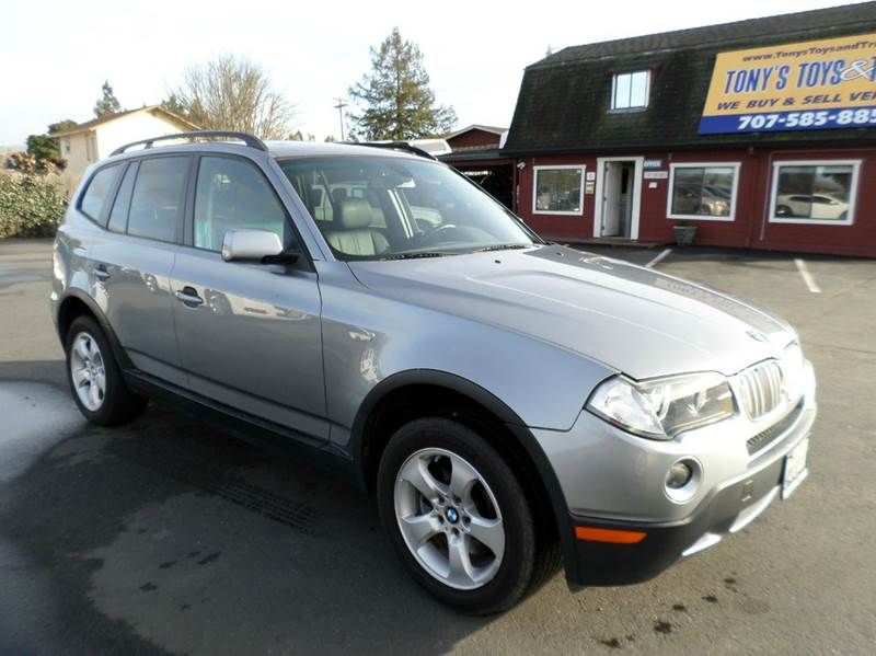2007 BMW X3 30SI AWD 4DR SUV silver 2-stage unlocking doors 4wd type - full time abs - 4-wheel