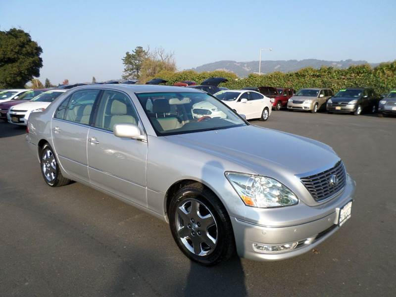 2005 LEXUS LS 430 BASE 4DR SEDAN silver really clean well maintain clean vehicle abs -