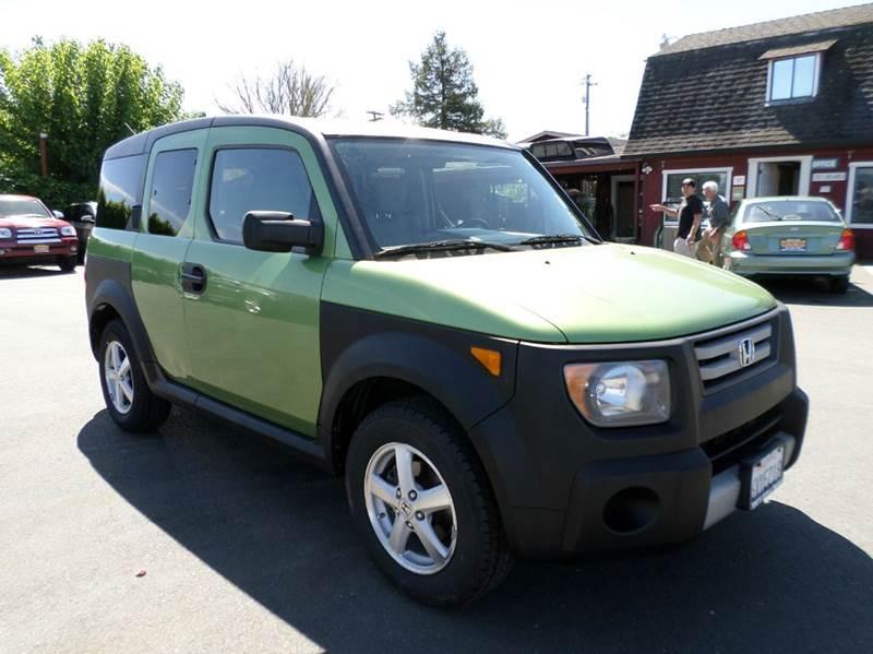 2007 HONDA ELEMENT LX AWD 4DR SUV 5A lt green new tires awd 2-stage unlocking doors 4w
