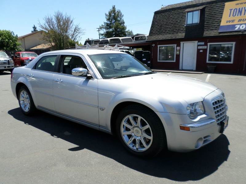 2006 CHRYSLER 300 C 4DR SEDAN silver heminew tires abs - 4-wheel adjustable pedals