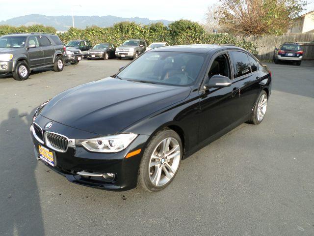 2014 BMW 3 SERIES 335I 4DR SEDAN black sapphire metallic clean carfax 2-stage unlocking - remote