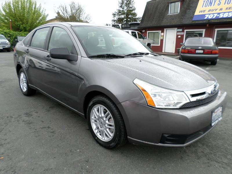 2011 FORD FOCUS SE 4DR SEDAN gray new tires abs - 4-wheel airbag deactivation - occupant