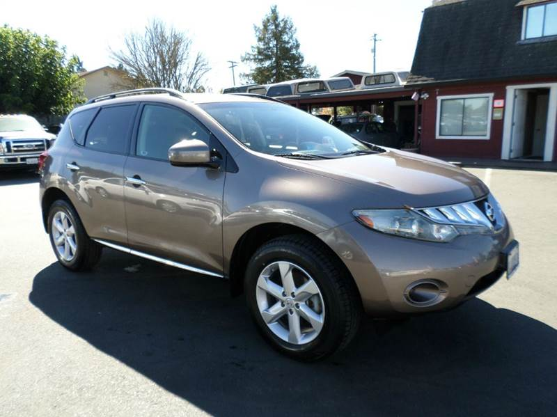 2009 NISSAN MURANO S AWD 4DR SUV champagne new tires 2-stage unlocking doors 4wd type - on d