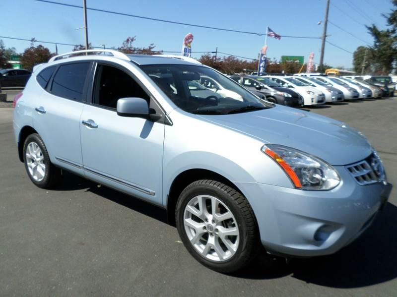 2011 NISSAN ROGUE SV AWD 4DR CROSSOVER lt blue leather awdnavione owner 2-stage u