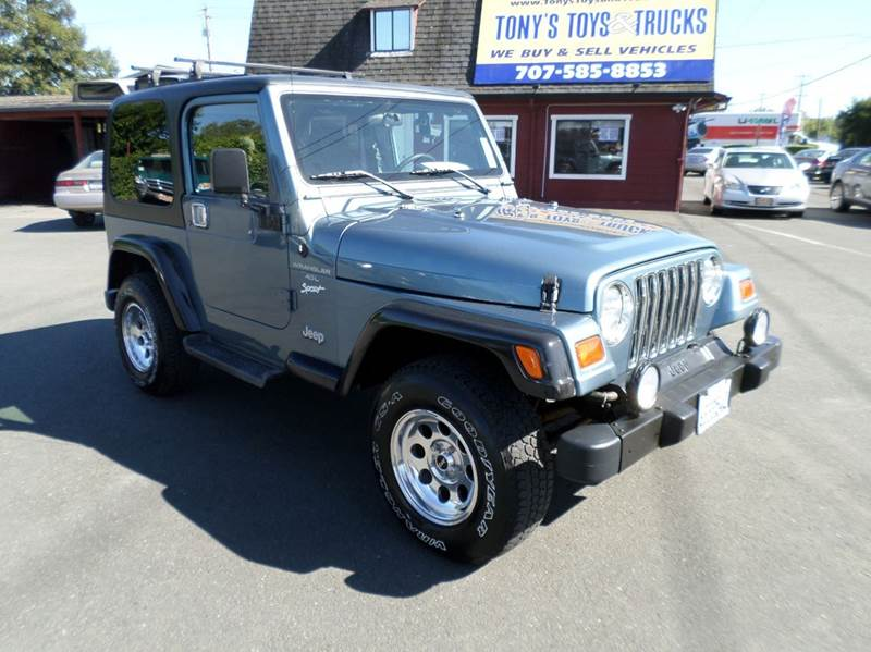 1998 JEEP WRANGLER SPORT 2DR 4WD SUV hard and soft top low miles 120422 alloy wheels center cons