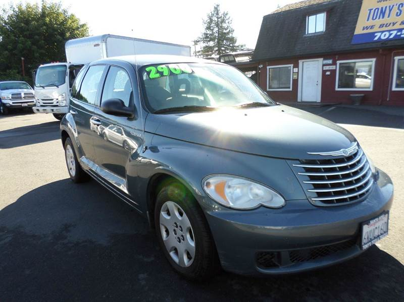 2006 CHRYSLER PT CRUISER BASE 4DR WAGON lt green new tires airbag deactivation - occupant
