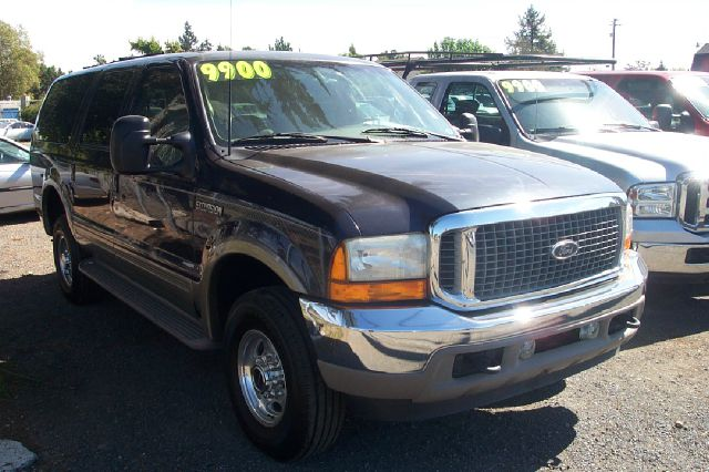 2001 FORD EXCURSION LIMITED 4WD brown 4wdawdabs brakesair conditioningalloy wheelsamfm radio