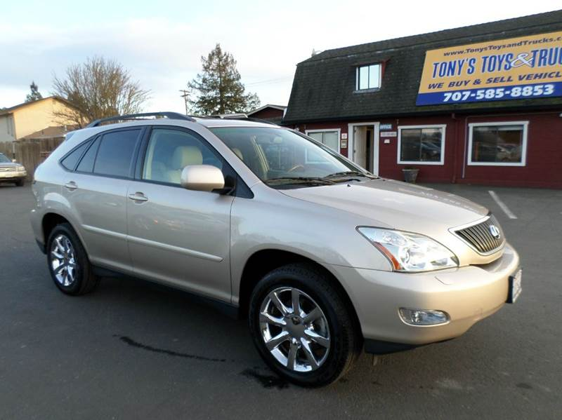 2007 LEXUS RX 350 BASE 4DR SUV gold   prior taxi vehicle at one point   no fi