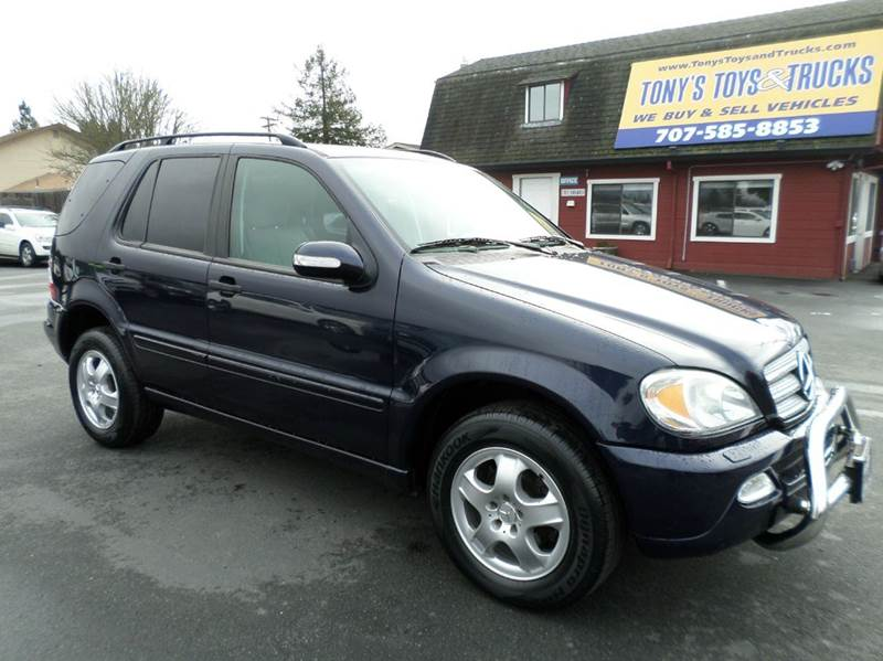 2004 MERCEDES-BENZ M-CLASS ML350 AWD 4MATIC 4DR SUV blue new tires abs - 4-wheel anti-thef