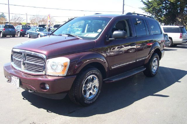 2004 DODGE DURANGO LIMITED 4WD maroon 3 rd row seat dvd 4wdawdabs brakesadjustable foot pedals
