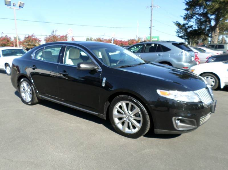 2010 LINCOLN MKS ECOBOOST AWD 4DR SEDAN black awdone owner vehicle 2-stage unlocking doo