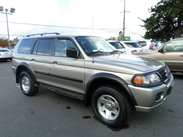 2002 MITSUBISHI MONTERO SPORT ES 4WD 4DR SUV pewter abs - 4-wheel alloy wheels anti-theft system