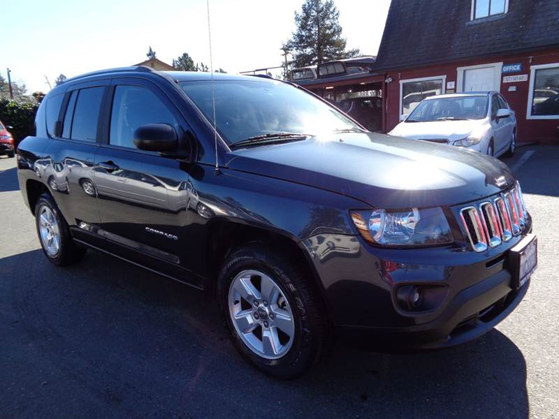 2014 JEEP COMPASS SPORT 4DR SUV gray new tires 2-stage unlocking doors abs - 4-wheel act