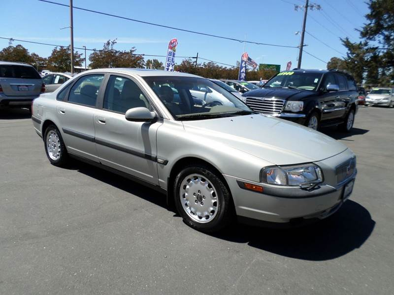 2000 VOLVO S80 29 4DR SEDAN silver one owner vehiclenew tires abs - 4-wheel anti-thef