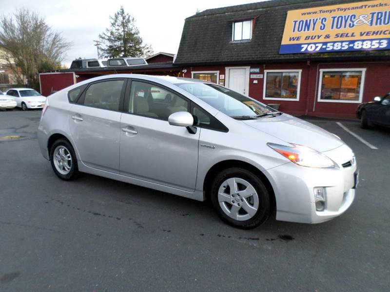 2010 TOYOTA PRIUS II 4DR HATCHBACK silver 64608 miles abs - 4-wheel active head r