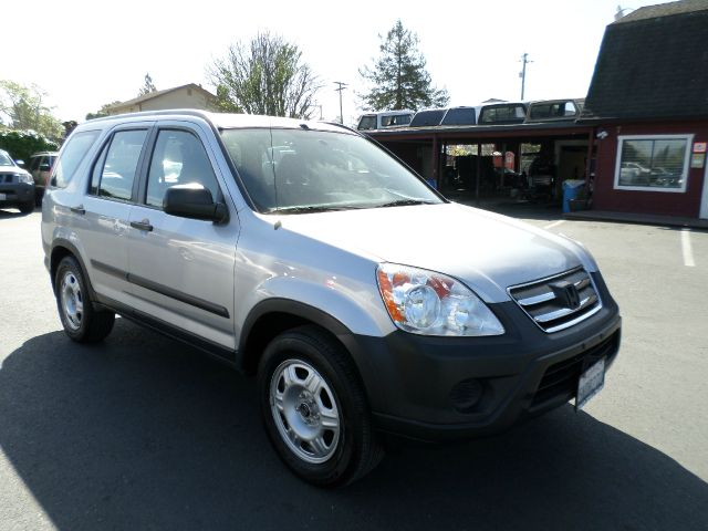 2005 HONDA CR-V LX 4DR SUV silver one owner vehicle abs - 4-wheel cassette center console - f