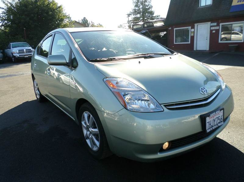 2008 TOYOTA PRIUS TOURING 4DR HATCHBACK lt green new tires low mileageback up cam