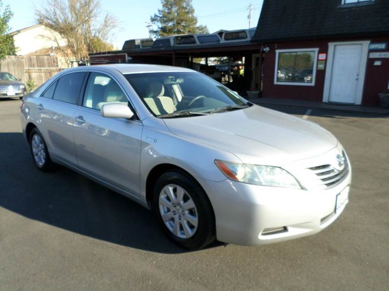 2008 TOYOTA CAMRY HYBRID BASE 4DR SEDAN silver new tires 2-stage unlocking doors abs - 4-wh