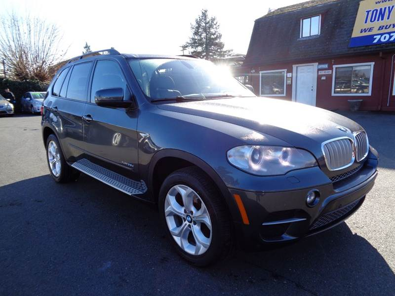 2012 BMW X5 XDRIVE35D AWD 4DR SUV drk gray new tires xdrivediesel 2-stage unlocking