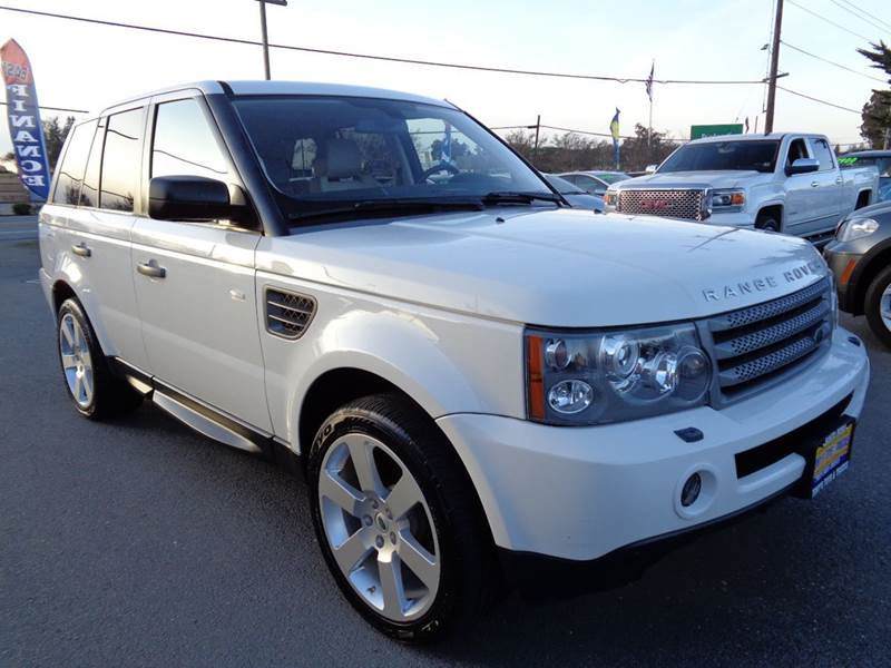 2009 LAND ROVER RANGE ROVER SPORT HSE 4X4 4DR SUV white one owner vehiclehse sport