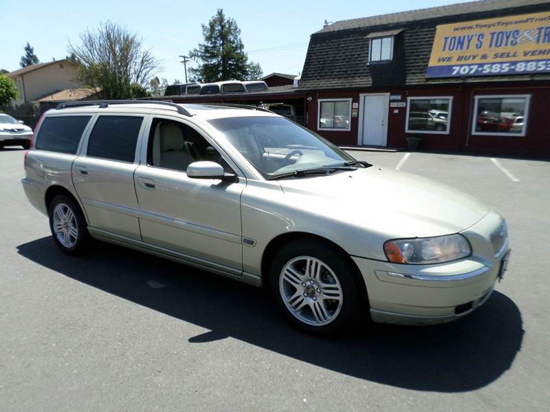 2006 VOLVO V70 25T 4DR WAGON lt green abs - 4-wheel air filtration airbag deactivation - occup