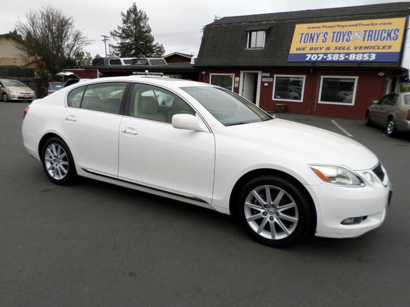 2006 LEXUS GS 300 BASE 4DR SEDAN white one owner vehicle always service at local delaershi