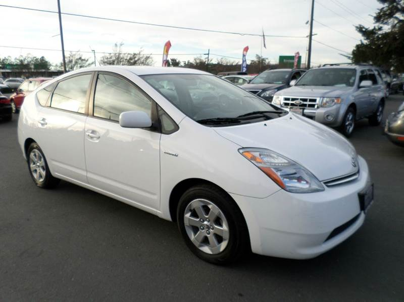 2009 TOYOTA PRIUS TOURING 4DR HATCHBACK white one owner vehicle 2-stage unlocking doors abs