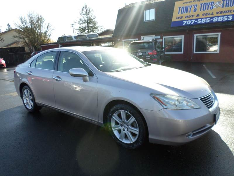 2008 LEXUS ES 350 BASE 4DR SEDAN tan new tires clean vehicle abs - 4-wheel air filtr