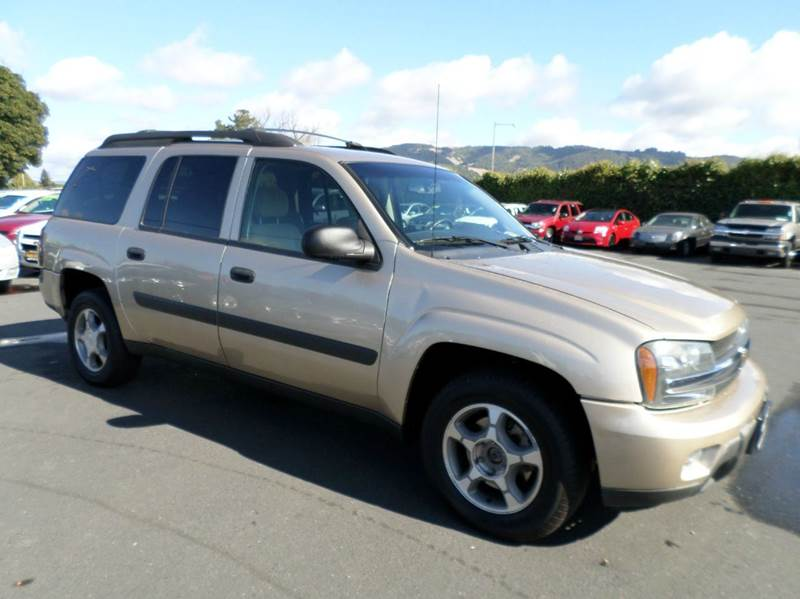 2005 CHEVROLET TRAILBLAZER EXT LS 4WD 4DR SUV gold good service records abs - 4-wheel axle ratio
