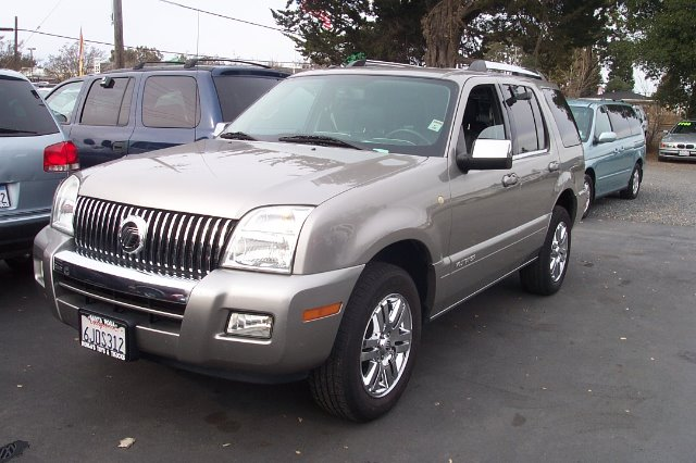 2008 MERCURY MOUNTAINEER PREMIER 46L 2WD silver abs brakesair conditioningalloy wheelsamfm ra