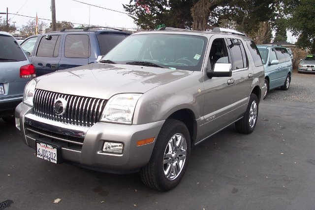 2008 MERCURY MOUNTAINEER PREMIER 46L 2WD silver air conditioning alloy wheels amfm radio wcd