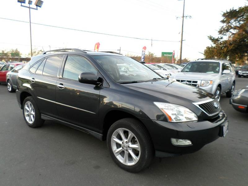2009 LEXUS RX 350 AWD 4DR SUV drk gray leather awd suv navigation heated seats 2-stage unl