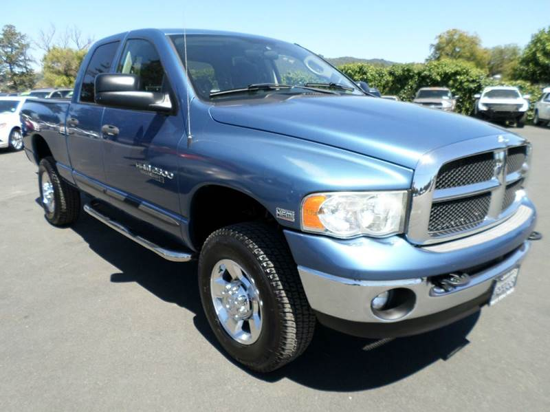 2005 DODGE RAM PICKUP 2500 SLT 4DR QUAD CAB 4WD SB big horn edition    4x4 abs - 4-wheel a