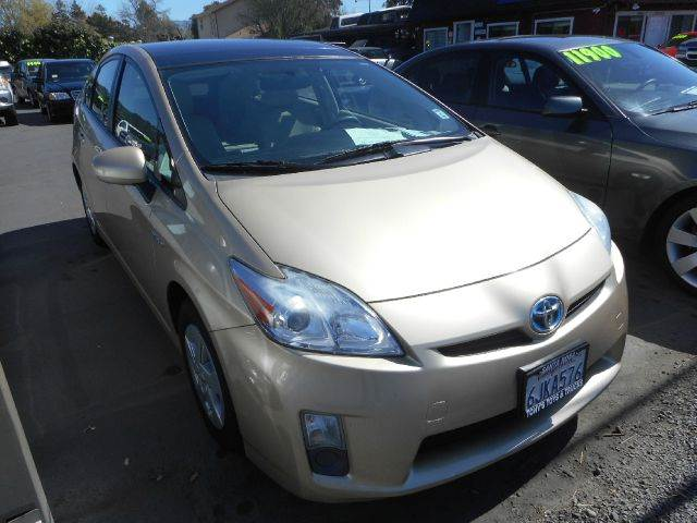 2010 TOYOTA PRIUS I 4DR HATCHBACK gold 1 owner vehicle clean car service at local dealer ab